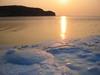 Золотая Дорожка. Фотография восхода солнца над берегом Владивостока. Автор - Компанец Д.А.
