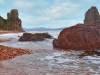 Скалы. Фотографии острова Русский. Автор - Компанец Д.А.