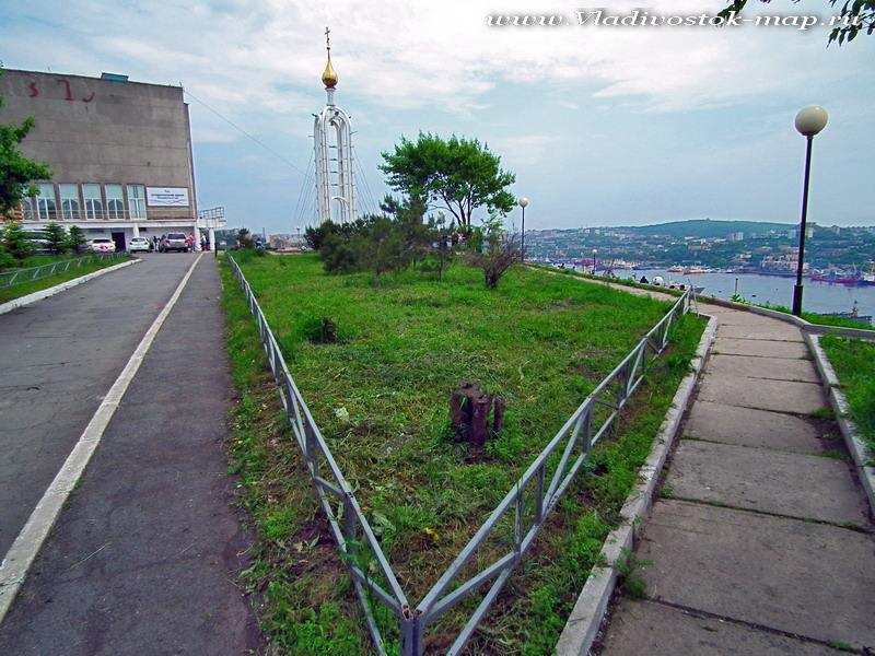 Зеленый угол. Владивосток саммит АТЭС 2012.