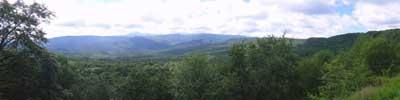 """Фото панорама - """"Лазовский перевал"""""""