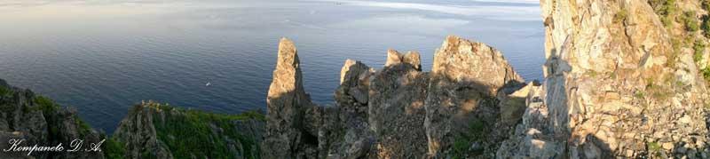 """Фото панорама - """"Скалы"""""""