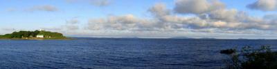 """Фотографии морского берега южного Приморья   """"Закат на берегу мыса Бринера"""""""