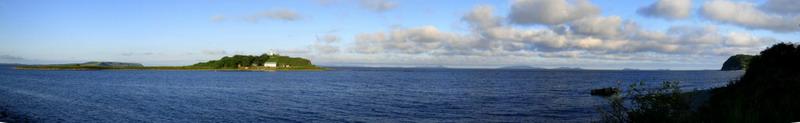 """Закат на побережье - """"панорамная фотография и интерактивное фото шоу"""""""