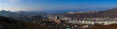 """Панорама Приморского края и Владивостока   """"Гора Холодильник"""""""