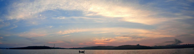 "Панорама Владивостока - ""Рыбалка на кальмара"""