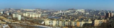 Вид с мыса Чуркин на Владивосток