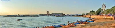 "Панорама г.Владивостока   ""Вечерняя набережная"""