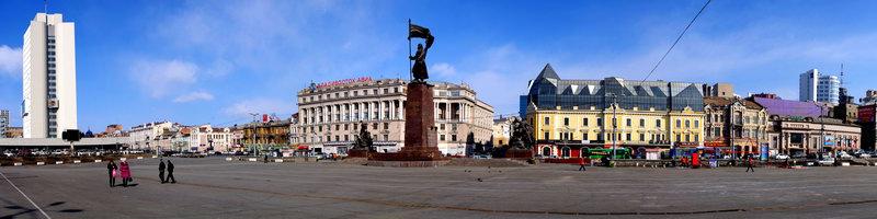 "Фото панорма Владивостока - ""Центральная площадь"""