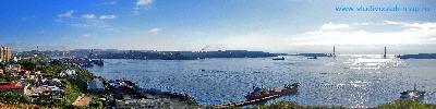"Панорама г.Владивостока   ""Порт Владивосток"""