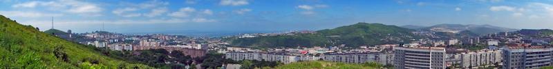 """Фото панорма Владивостока - """"Вид на Амурский залив"""""""