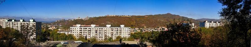 """Фото панорма Владивостока - """"Снеговая падь в сентябре"""""""
