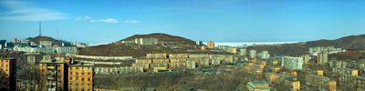 "Панорама г.Владивостока   ""Зеленый угол"""