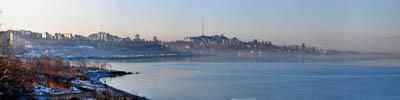 """Потрясающая утреняя панорама г.Владивостока   """"Вид на Первую речку"""""""