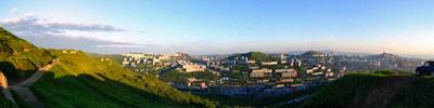 """Потрясающая вечерняя панорама г.Владивостока   """"Вид с сопки Холодильник"""""""
