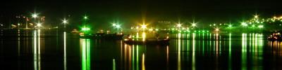 Панорама Пролив Босфор город Владивосток.