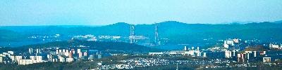 Панорама  Зеленый угол город Владивосток.