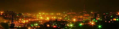 "Панорама г.Владивостока   ""Звездная долина"""