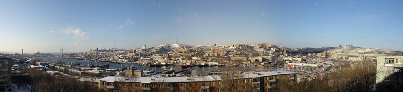 "Фото панорма Владивостока - ""Вид с Чуркина на Владивосток"""