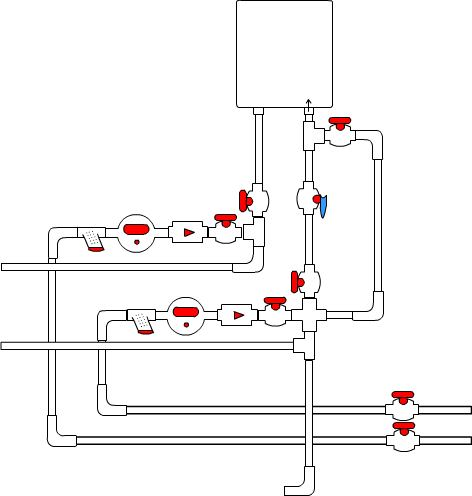 Схема размещения и монтажа
